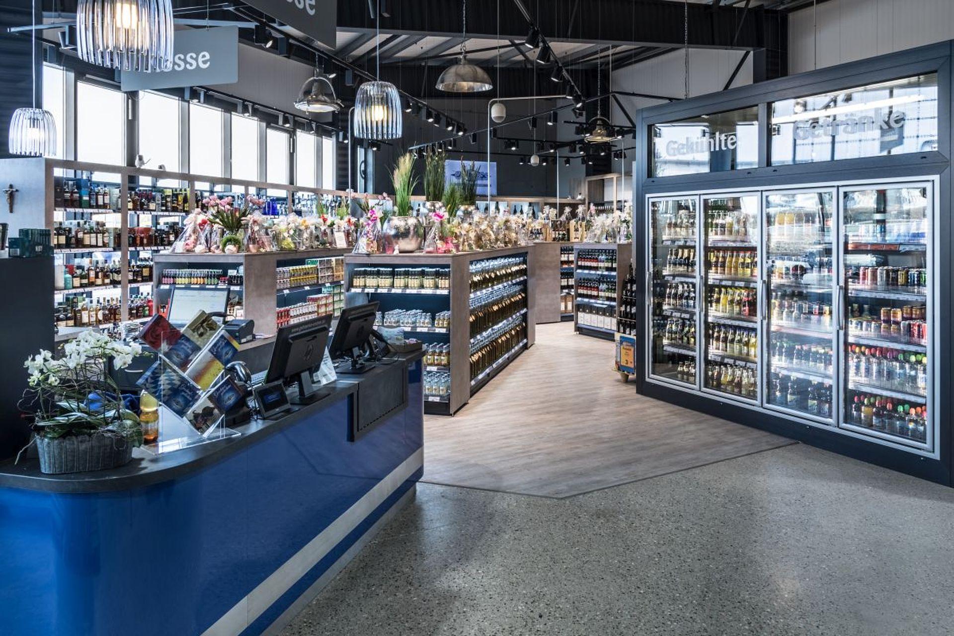 Ladenbau Referenz - Getränkemarkt Endres