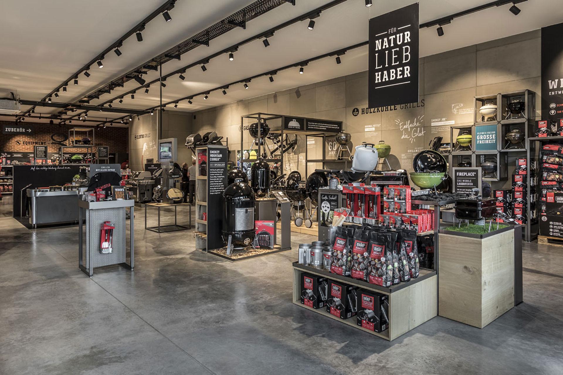 Ladenbau Referenz Weber Original Store Gr 252 Ndau